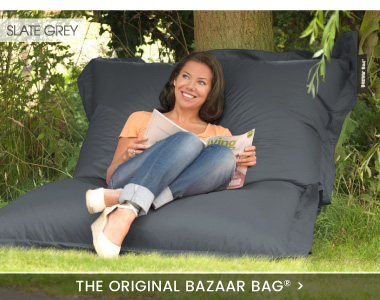 giant bean bag bazaar bag banner - Giant Bean Bag Chairs