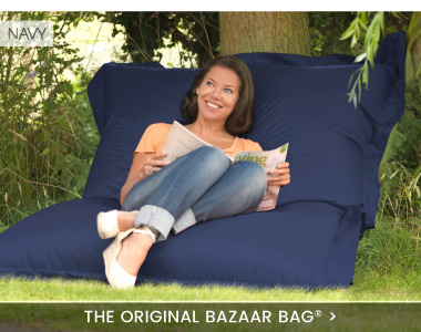 giant bean bag bazaar bag banner - Giant Bean Bags