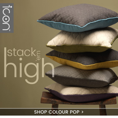 Quilted Cushions Colour Pop Collection - banner
