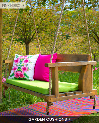 Outdoor Garden Cushions - banner