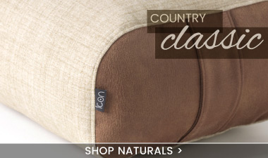 Natural Pouffe Footstool - banner