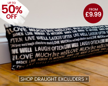 Draught Excluders - banner