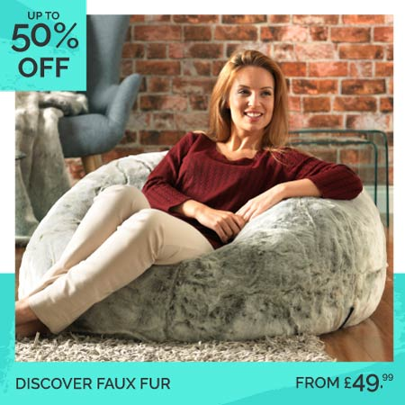 Faux Fur Bean Bags - Category