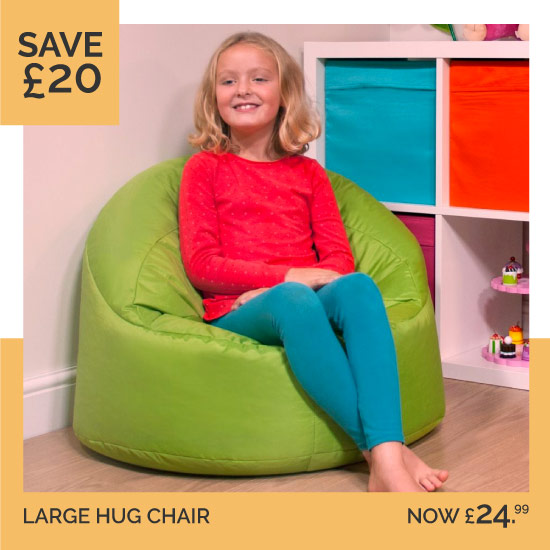 Kids Large Hug Chair Bean Bag