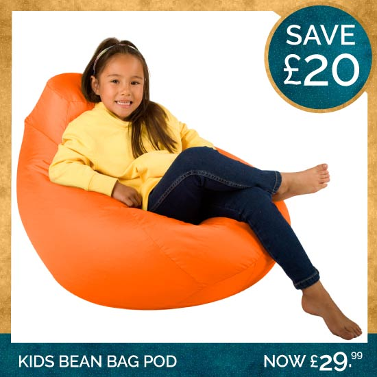 Kids Highback Pod Bean Bag