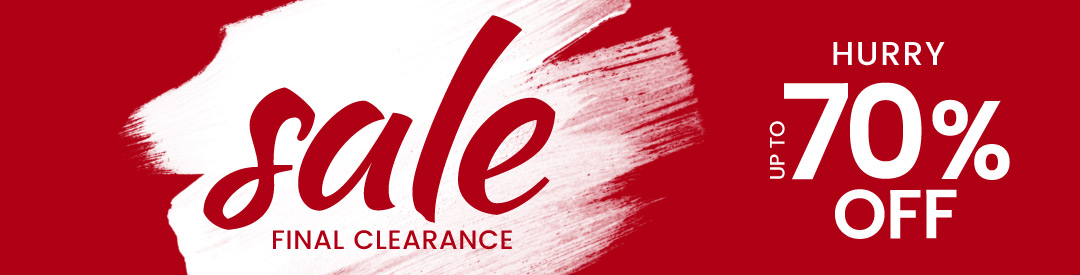 Clearance Sale - banner
