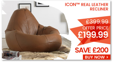 Sale Offer - Real Leather Recliner
