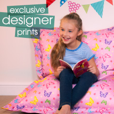Kids Bean Bags - footer banner