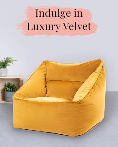 Velvet Armchair - Desktop
