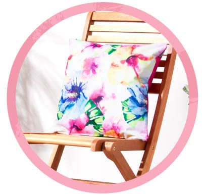 Outdoor Cushions - HP Promo