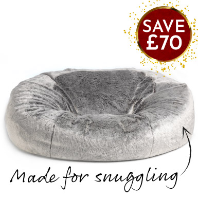 Faux Fur Sofa