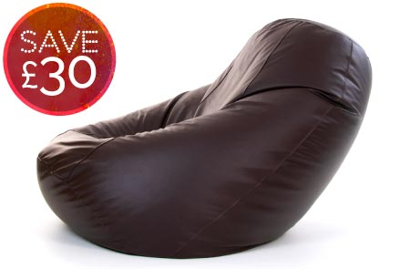 Giant Bean Bags Faux Leather Chair