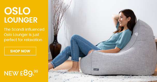 Oslo Lounger Bean Bag - Mobile