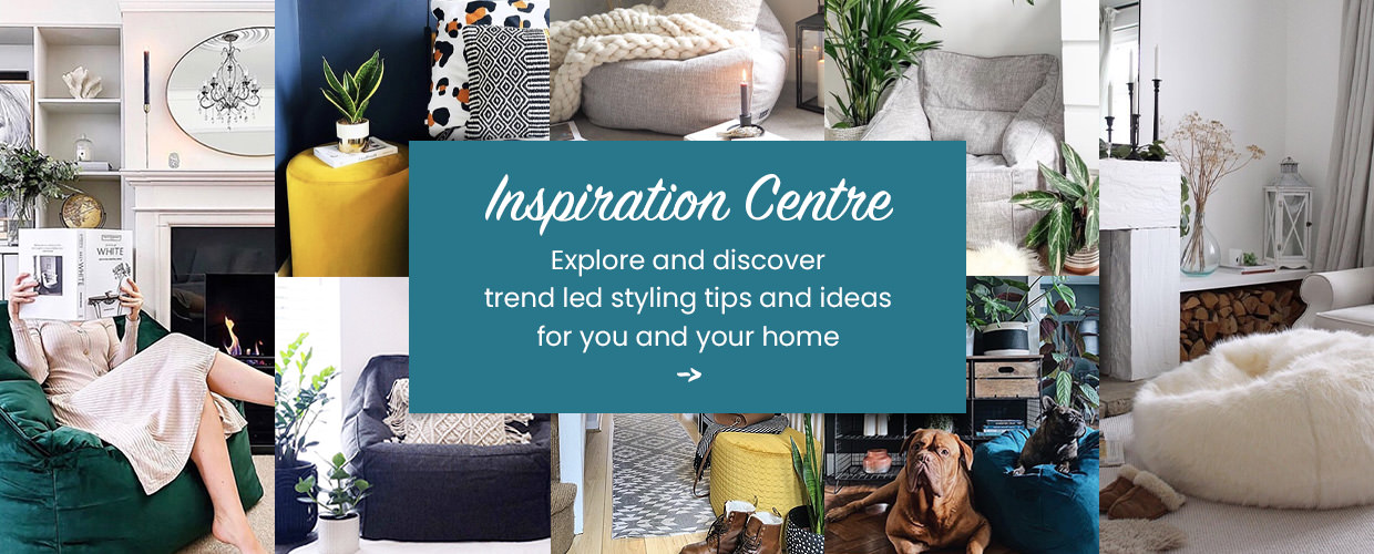 inspiration center. Explore and discover trend led styling tips and ideas for you and your home