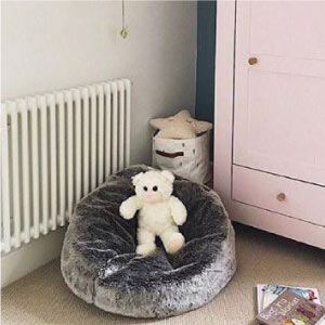Icon Kids Fur Bean Bag - Insta Bean Bags