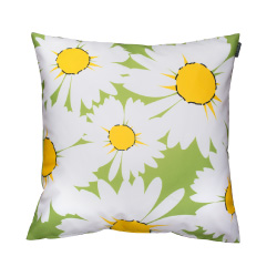 Daisy Cushion Lime