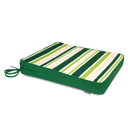 Garden Stripe Seat Cushion