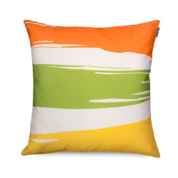 Citrus Stripe Outdoor Cushion