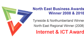 North East Business Awards Winner - 2008 & 2010.